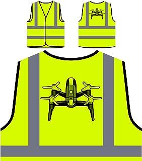 4fa2f9500 Drone Pilote D'Appareil Photo Veste de Protection Jaune personnalisée à  Haute visibilité r633v