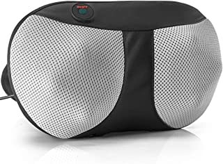 Lifelong Cushion Massager with Deep Kneading nodes for Back, Neck, Shoulders Muscle Pain Relief - Portable Relaxation in C...