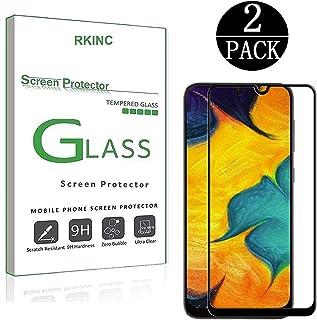 RKINC حامي الشاشة لSamsung Galaxy A30S، غطاء كامل من الزجاج المقسى حامي الشاشة [2.5D حافة مستديرة] [صلابة 9H] [الكريستال ا...