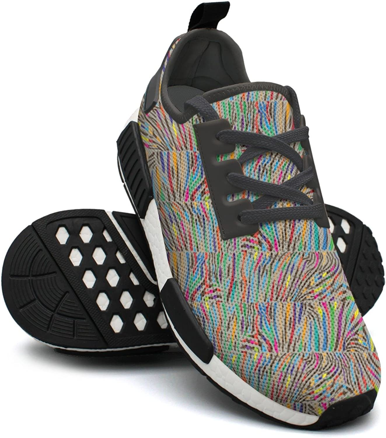 WESER Multicolord Zebra Skin Cute Gym Trail Running shoes NMD
