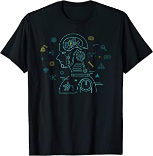 Machine Learning Data Learning Computer Science AI Program T-Shirt