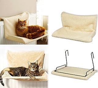 MEDIA WAVE store 29450 Cama para Colocar en radiador Mod.Felina para Gatos Extraible y Lavable