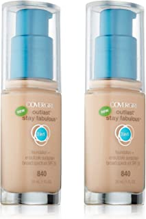 Cover Girl 00724 840natbge Natural Beige 3 In 1 Foundation