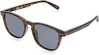 Local Supply Men's CITY Polarized Sunglasses - Dark Grey Tint Lens, Polished Tortoiseshell Frames