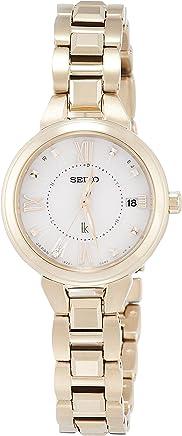 [ルキア]LUKIA 腕時計 ルキア ソーラー電波 ダイヤモンド入り白文字盤 サファイアガラス 10気圧防水 SSVW148 レディース