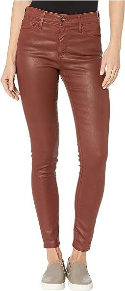 Vintage Leatherette Light Rich Crimson