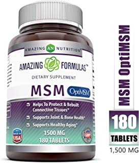silica and msm supplements