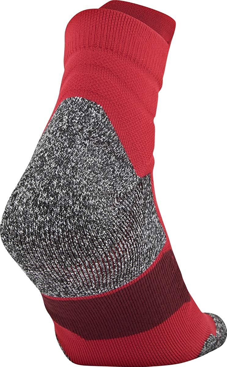 1-pair Under Armour unisex-adult Drive Basketball Quarter Socks