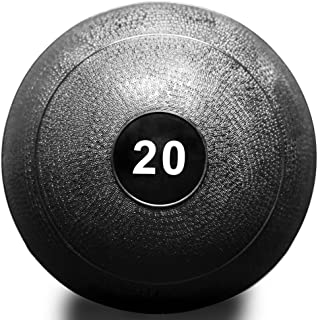 Rep Fitness V2 Slam Balls for Strength and Conditioning, Slam Ball Exercises, and Cardio Workouts (5, 10, 15, 20, 25, 30, 35, 40, 45, 50, 60, 70, 100 lbs)