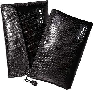 "Fireproof Bag Small, 8.7""X5.5"" Fireproof Money Bag, Fireproof and Waterproof Safe Bag, Fireproof Wallet Bag Pouch, Firepro..."