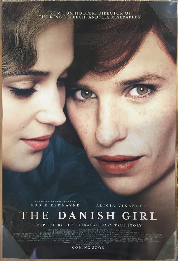 Amazon Com The Danish Girl Movie Poster 2 Sided Original Intl Final 27x40 Alicia Vikander Eddie Redmayne Everything Else