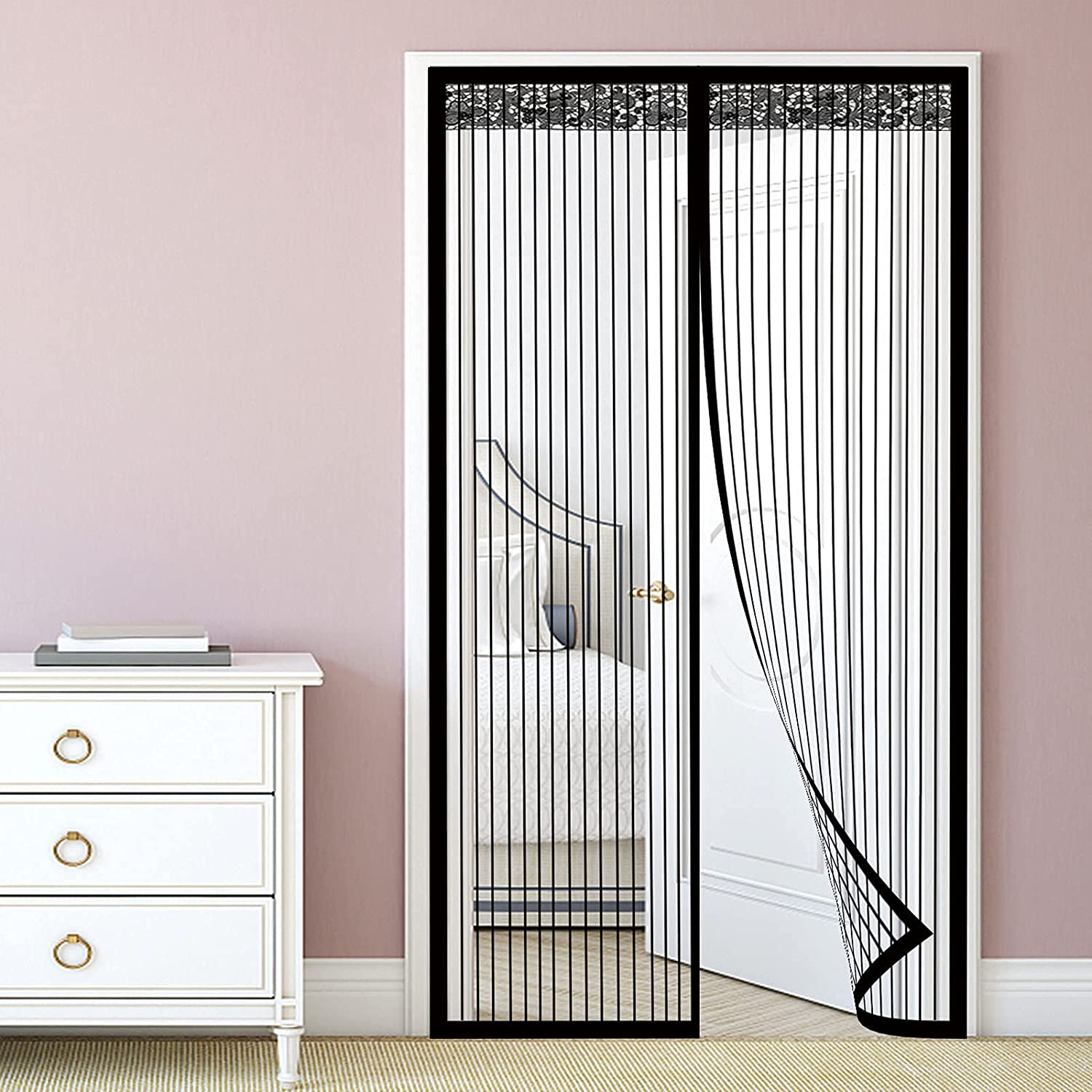 Many popular brands Magnetic Screen Door Hands Full Cheap with Free