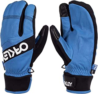 Oakley Factory Winter Trigger 2 Men's Snowboarding Mitten Gloves - Electric Blue/X-Large