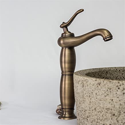 Hlluya Professional Sink Mixer Tap Kitchen Faucet So the old antique bathroom Washbasin Faucet Vanity basin taps on the thick