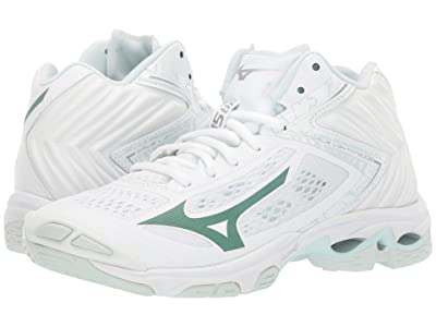 Mizuno Wave Lightning Z5 Mid (White) Women