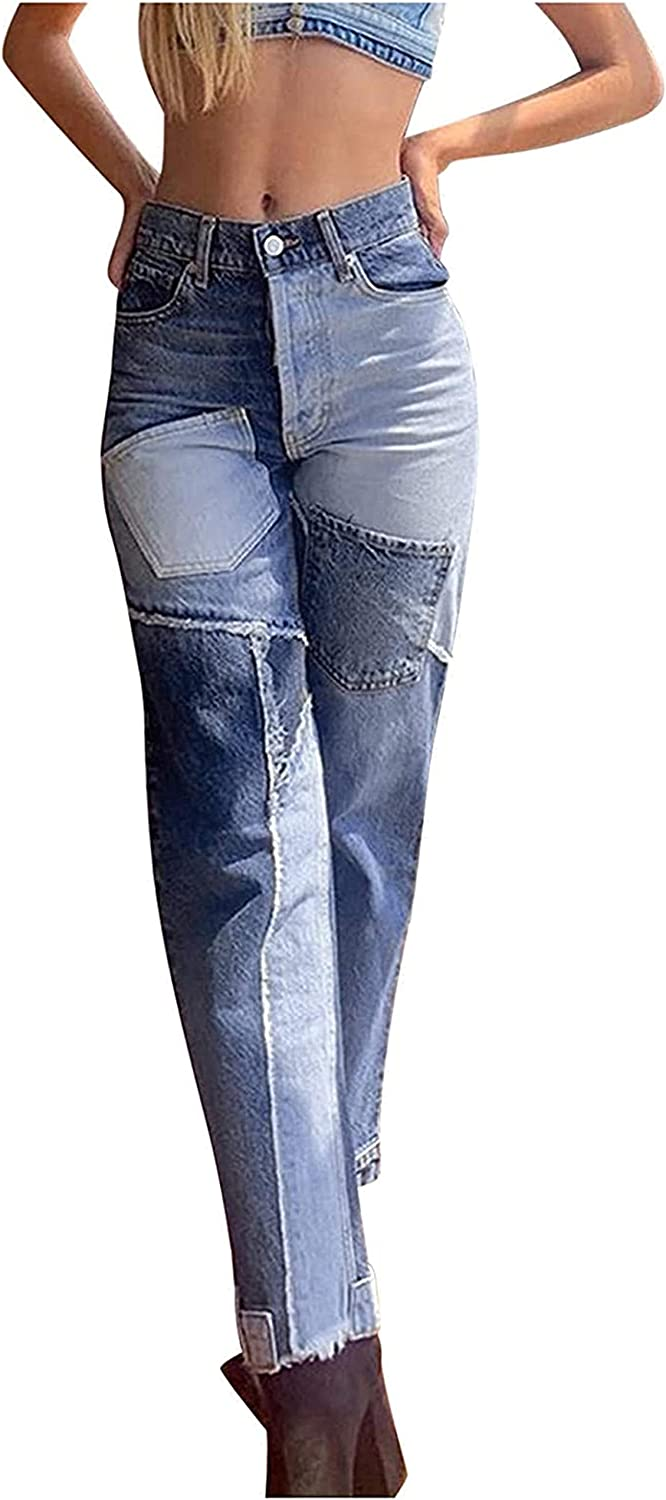 Susanlife High Waisted Jeans for Ripped Denim Fashion SALENEW very popular Factory outlet Pant Women