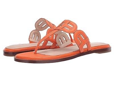 Cole Haan Anoushka Sandal (Golden Poppy Tumble Leather Natural Stitch/Dark Natural) Women