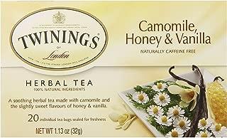 Twinings Tea Chamomile Honey and Vanilla Tea, 20 ct
