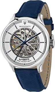 Maserati new gent Mens Analog Automatic Watch with Leather bracelet R8821136001