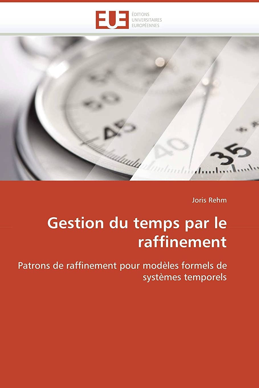 カバー踏み台味わうGestion Du Temps Par Le Raffinement (Omn.Univ.Europ.)