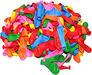 100 Count/Pack Balloons 12 Inch Assorted Multicolor Color Thicken Latex Balloons For Birthday Party Christmas Weddings And...