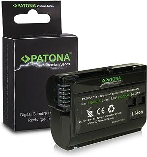 PATONA EN-EL15 Bateria Li-Ion 7V 2000mAh Premium Para Nikon negro