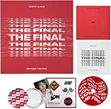 IKON EP Album - New Kids : The Final [ REDOUT ver. ] CD + Booklet + Photocard + Sticker + Folded Poster + FREE GIFT / K-Pop Sealed