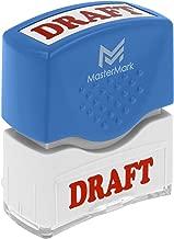 Draft Stamp – MasterMark Premium Pre-Inked Office Stamp