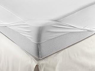 Velfont Drap-housse respirant 160 x 200 cm Blanc