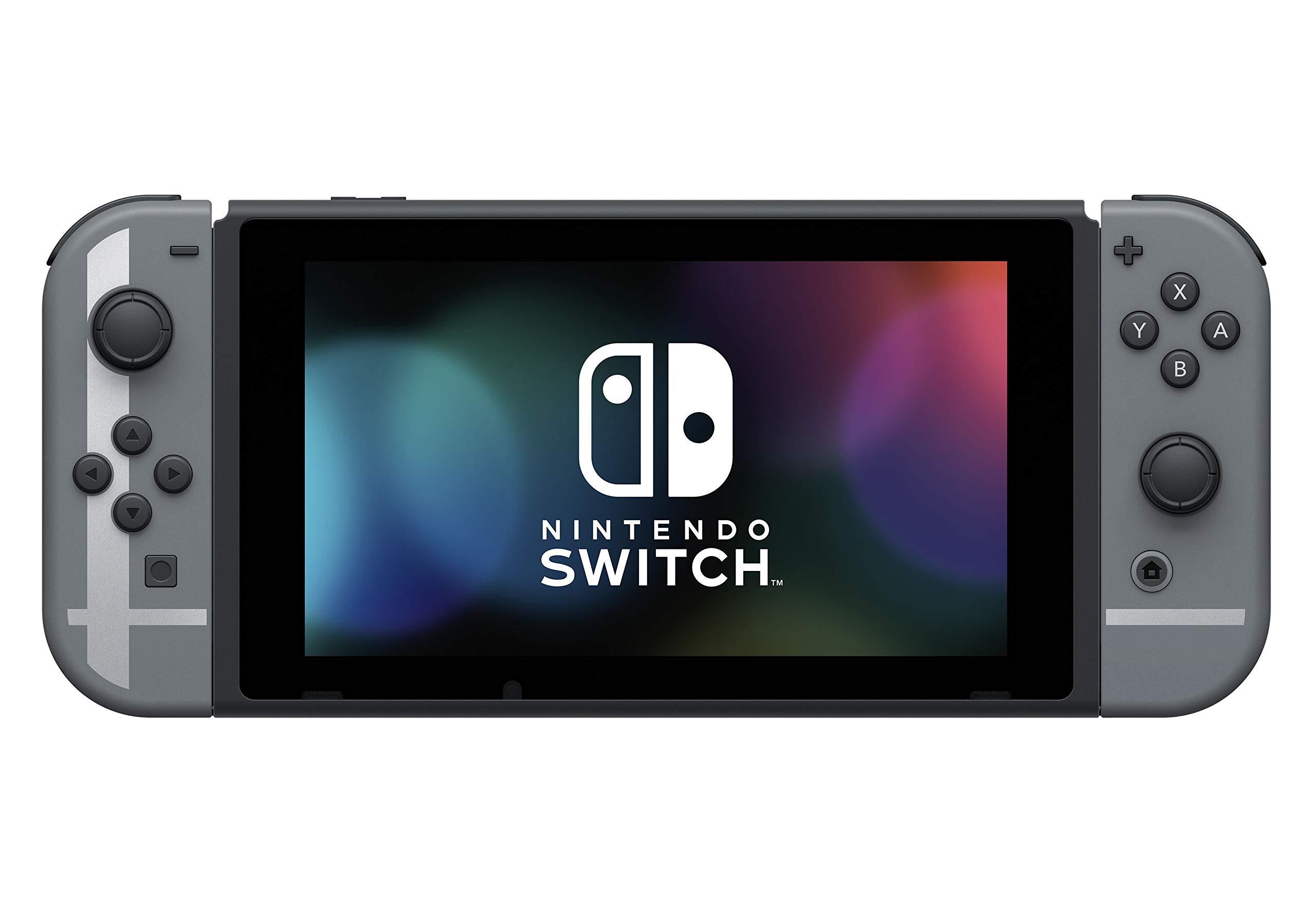Nintendo Switch Grey Super Smash Bros. Ultimate Edition + Super Smash Bros. Download Code [Importación inglesa]: Amazon.es: Videojuegos