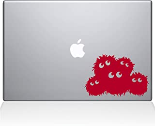 "The Decal Guru Fuzzies Macbook Decal Vinyl Sticker  - 13"" Macbook Pro (2016 & newer) - Red (1223-MAC-13X-DR)"