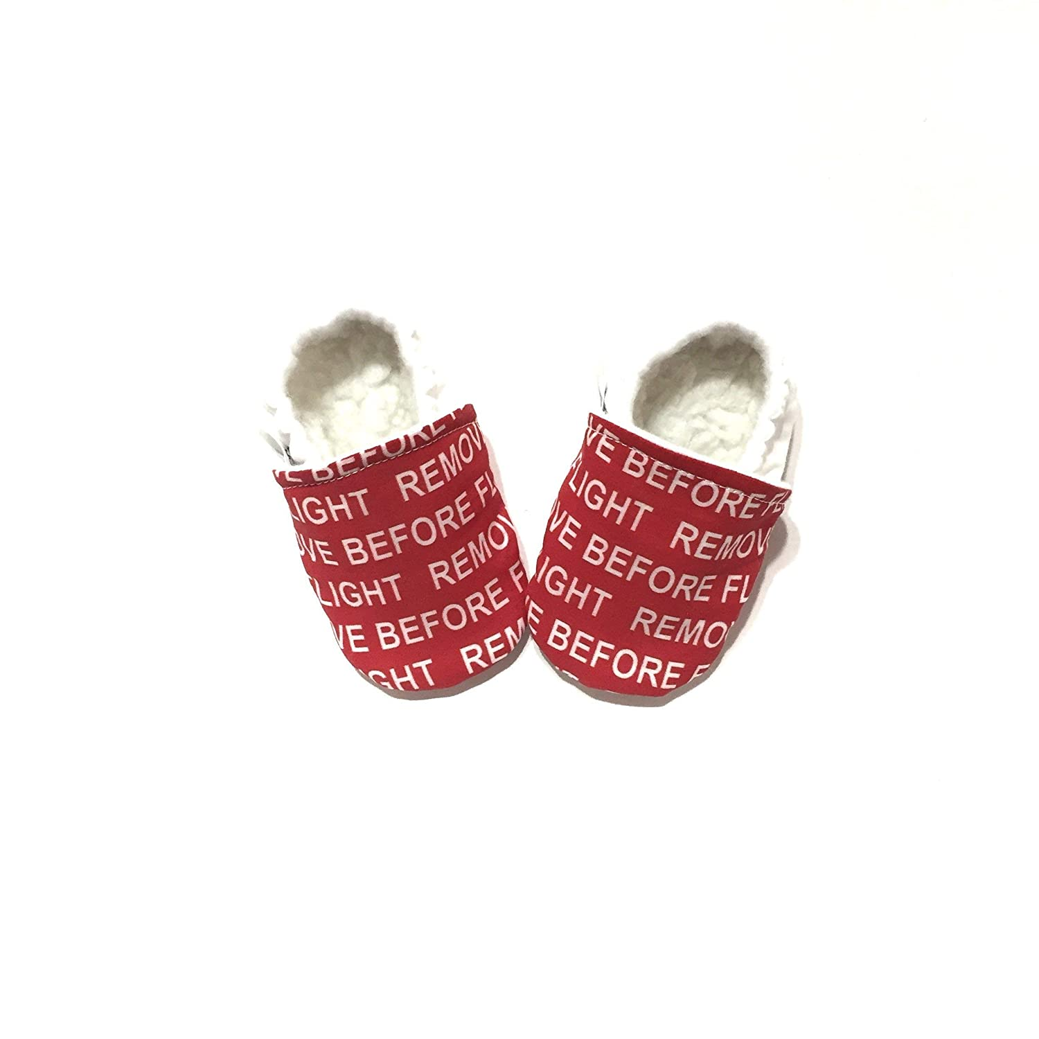 REMOVE BEFORE FLIGHT Pilot Shoes lowest price Airplane Air Baby Over item handling