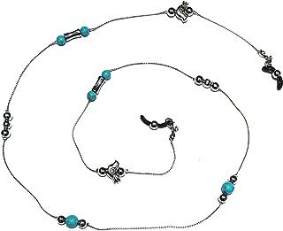 Handmade Stone Beaded Eyeglass Holder, Eyeglass Chain for Women, Eyeglass Necklace