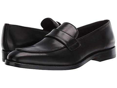 Canali Contrast Trim Loafer