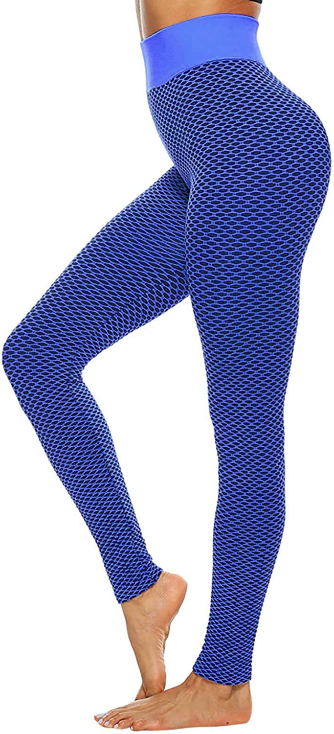 Hotkey Leggings for Women, High Waisted Tummy Control Yoga Pants Casual Running Sweatpants Outdoor Recreation Pants