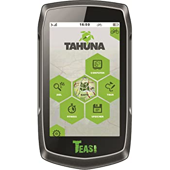 Kompass und Europakarte Outdoor-Navigationsger/ät mit Bluetooth TAHUNA TEASI ONE⁴