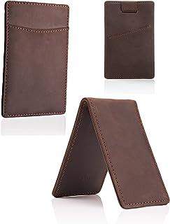 محفظة Hei Money Clip - محافظ للرجال جيب أمامي نحيف حامل بطاقات RFID الحد الأدنى من 2 قطعة صندوق هدية