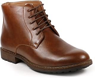 MC132 Men's Lace Up Casual Fashion Ankle Chukka Boots
