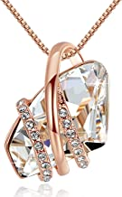Best rose birthstone beauty necklace Reviews