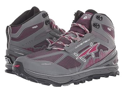 Altra Footwear Lone Peak 4 Mid RSM (Gray/Purple) Women