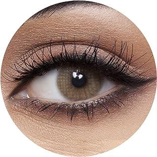 Anesthesia USA L.A. Mocha Unisex Contact Lenses, Anesthesia Cosmetic Contact Lenses, 6 Months Disposable - USA L.A. Mocha ...