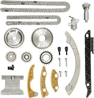کیت زنجیره ای تایمینگ با راهنمای کشش زنجیر چرخ تعویض چرخ دنده چرخ دستی | برای 2.0L 2.2L 2.4L GM Buick Chevy GMC Pontiac Saturn | جایگزین می شود