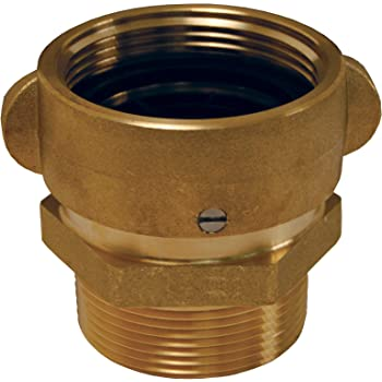 NH 2-1//2 NST Male 2-1//2 NST 45 Degree Angle and Suction Elbow with Rocker Lug NH Dixon Valve RSE45250F Brass Fire Equipment Male Dixon Valve /& Coupling NH Female x 2-1//2 NST Female x 2-1//2 NST NH