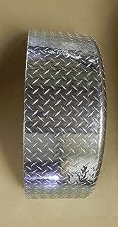 Vintage Technologies FN01 RV Teardrop Vintage Trailer Aluminum Diamond Plate Fenders (2)
