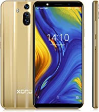 $69 » Unlocked Cell Phones International Version, Xgody Dual SIM Unlocked Smartphones Android 8.1 6.0 Inch 1GB + 8GB Memory Enable Global Use Gold