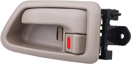 SCITOO Door Handle Interior Left Side Beige fit for Toyota Camry 1997-2001