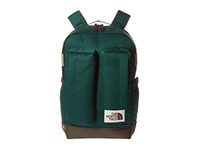 The North Face Crevasse (Night Green/New Taupe Green) Backpack Bags