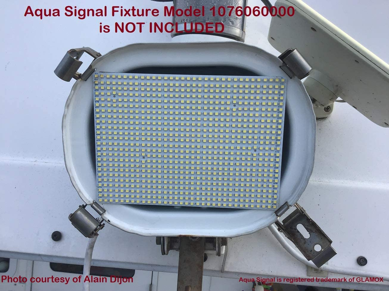SOLARA-USA LED Panel for Aqua sold out Gifts FLOODLIGHT Fixture Signal Halogen