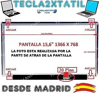TECLA2XTATIL TC2X Pantalla Compatible para PORTATIL MSI CX62 2QD-288XES 15,6