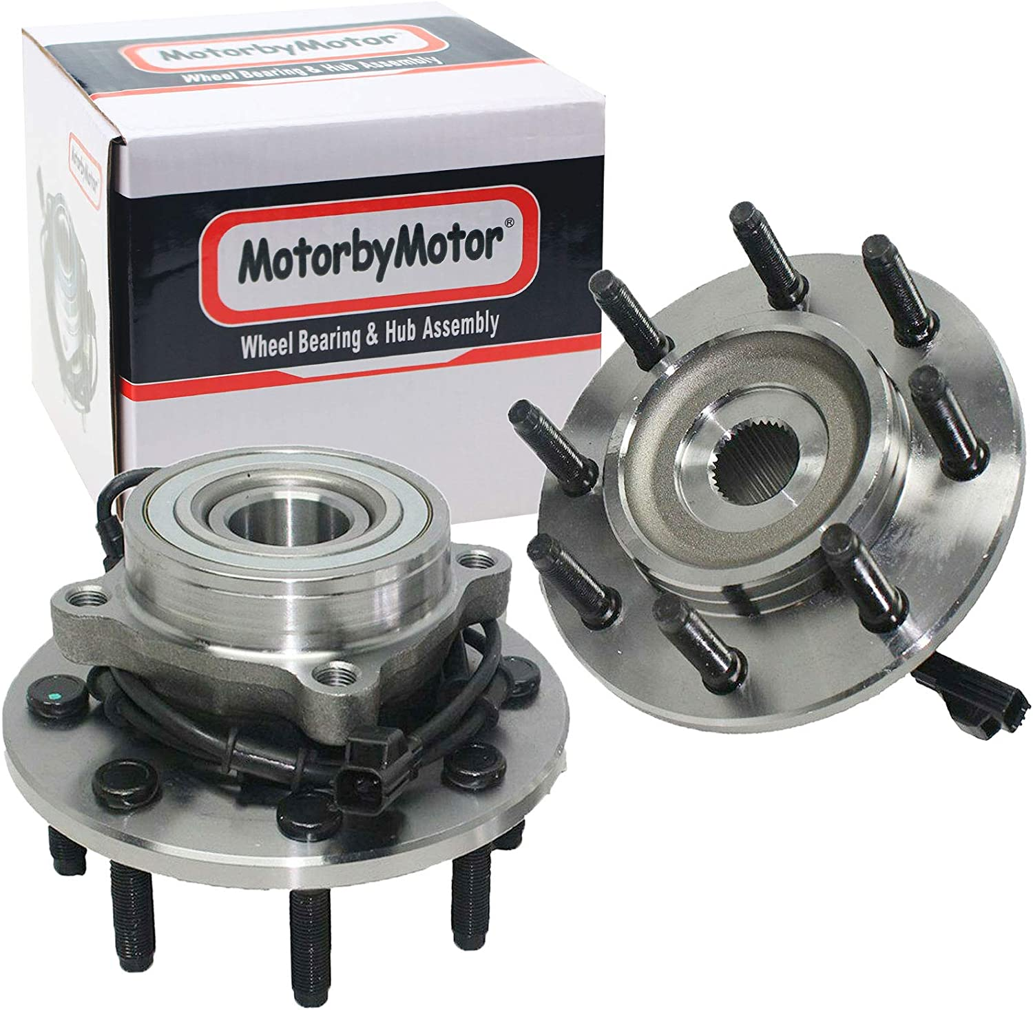 MotorbyMotor 515061 Front Wheel Bearing 卓抜 Fits 超定番 Hub Assembly for